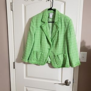 ✅ green jacket ✅